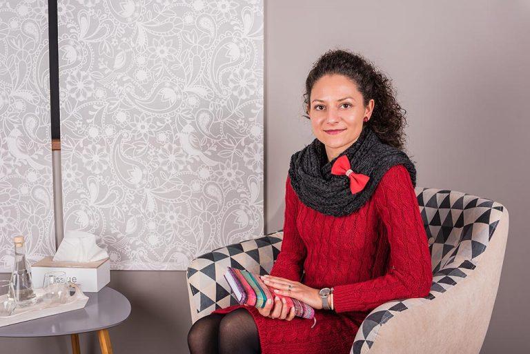 psiholog Iulia Cena-Dican