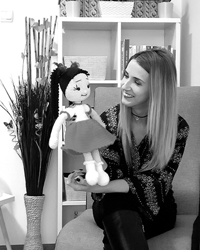 Psiholog MAZE Center - Alexandra Maria Jarda BW